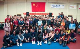 Association of Chinese students table tennis tournament in Wageningen 2018
