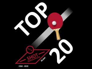 Top 20 tafeltennis @ Korfbal Vereniging Wageningen