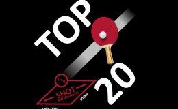 Top 20 toernooi TTV Shot Wageningen