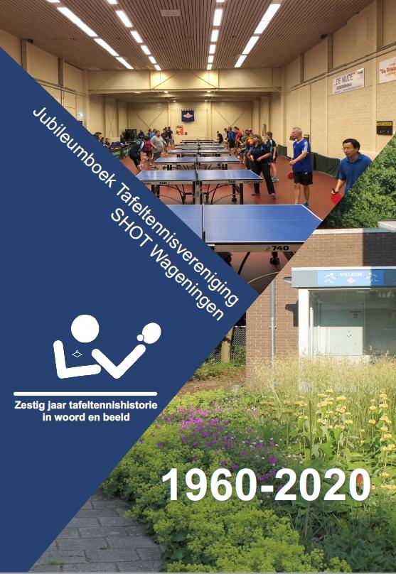 Cover van het jubileumboek TTV Shot 1960-2020