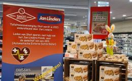Jan Linders paasbrood actie voor TTV Shot