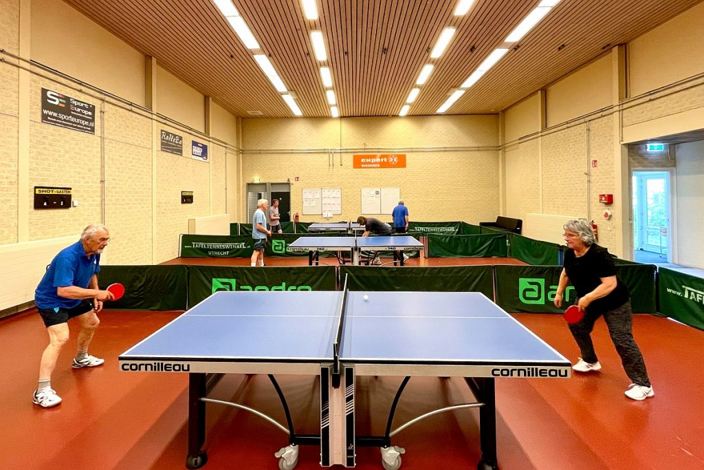 Shot Wageningen tafeltennis weer open 19 mei 2021