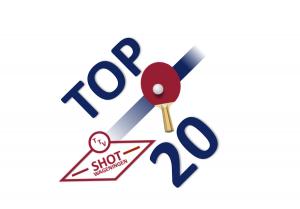 Logo van het Shot Top-20 toernooi