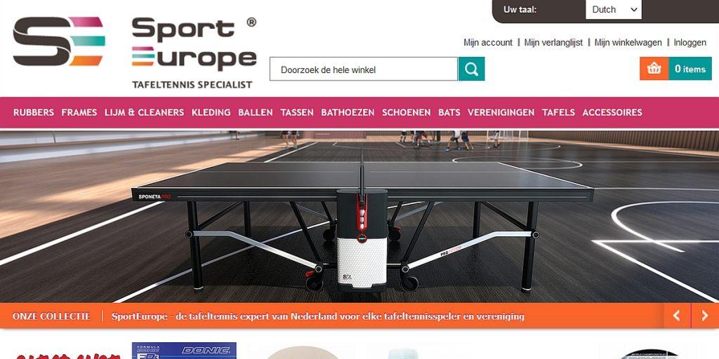 Sport Europe website