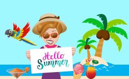 De zomer is er en de vakanties starten