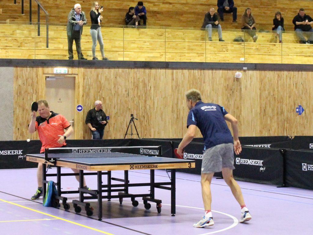 Dicky de Jong en Trinko Keen in halve finale