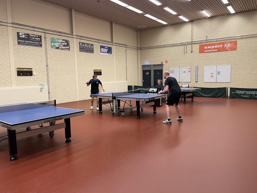Clubkampioenschappen 2021 Finale Frank Xinyou Yin tegen winnaar Sietse Hoekstra
