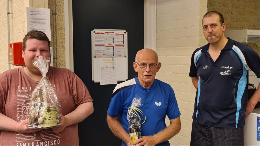 Johan van der Pol wint de laddercompetitie
